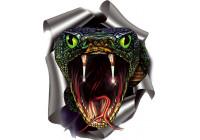Klistermärke Snake - 17,6x20cm