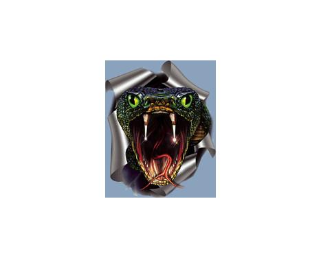 Klistermärke Snake - 17,6x20cm, bild 2