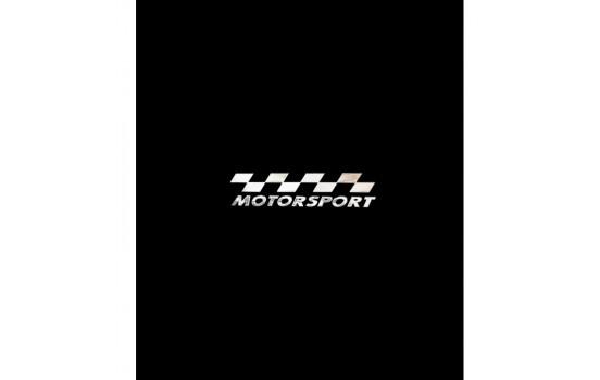 Nickel Sticker 'MOTORSPORT' - 70x15mm