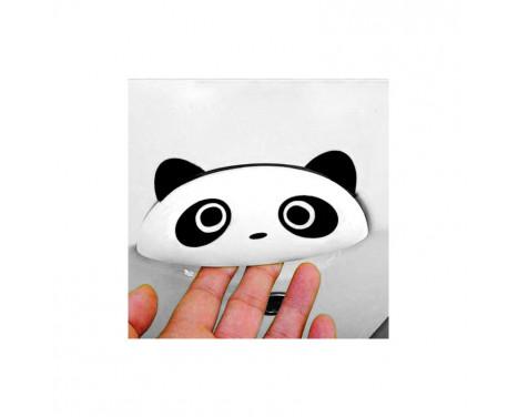 Simoni Racing Sticker 'Panda Po' - Svart - Uppsättning av 2 delar