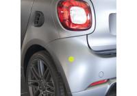 Simoni Racing Stickerset 'Reflective' - Gul - Uppsättning av 4 delar