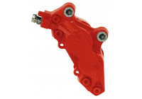 Bromsokfärg Röd - 2 komponenter