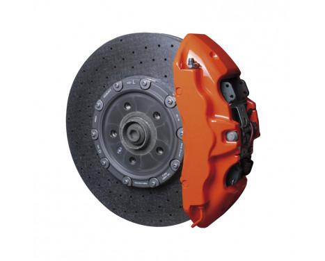Foliatec Bromsok färg set - flam orange - 7 delar