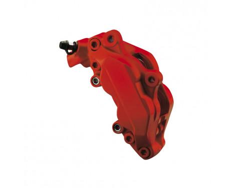 Foliatec Bromsok färg set - racing rosso matt - 7 delar, bild 2