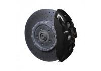 Foliatec Remklauwlakset - midnatt svart - 3 Komponenter