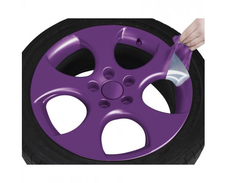 Foliatec Spray Film (Film Spray) Set - lila glänsande 2x400ml, bild 6