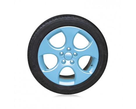 Foliatec Spray Film (Film Spray) Set - ljusblå glänsande 2x400ml, bild 4