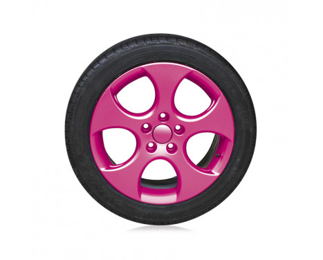 Foliatec Spray Film (Film Spray) Set - rosa glänsande 2x400ml, bild 4