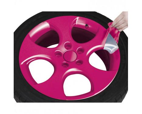 Foliatec Spray Film (Film Spray) Set - rosa glänsande 2x400ml, bild 6