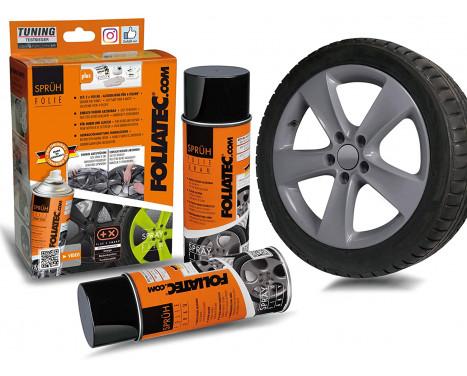 Foliatec Spray Film Set - gråblank - 2x400ml