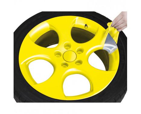Foliatec Spray Film Set - gul blank - 2x400ml, bild 6