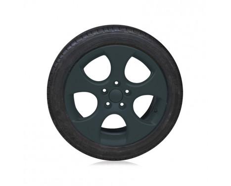 Foliatec Spray Film Set - kolgrå matt - 2x400ml, bild 4