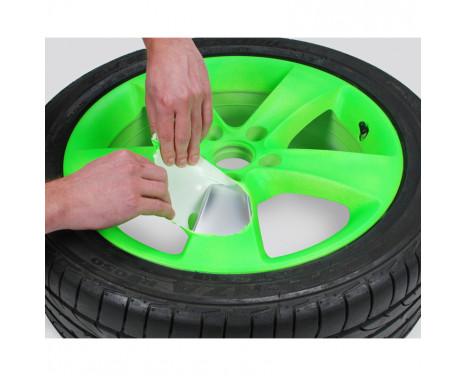 Foliatec Spray Film (Sprayfolie) - NEON grön - 4 delar, bild 3