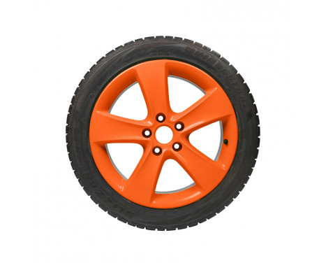 Foliatec Spray Film (Sprayfolie) - NEON orange - 2 delar, bild 4