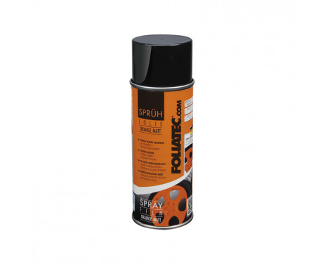 Foliatec Spray Film (Sprayfolie) - orange matt - 400 ml