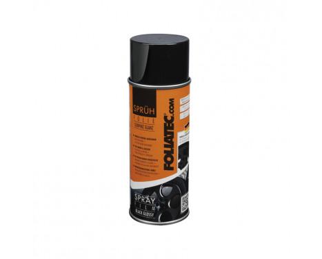 Foliatec Spray Film (Sprayfolie) - svart blank - 400 ml