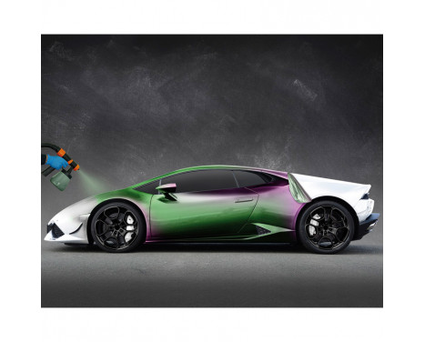 Foliatec Spray System - magisk grön (flip flop) metallic matt - 2x 5 liter, bild 3