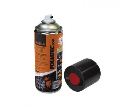 Foliatec Universal 2C Spray Paint - högblank svart 1x400ml