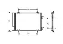 AIRCO CONDENSOR 1.4 16V / 1.6  16V