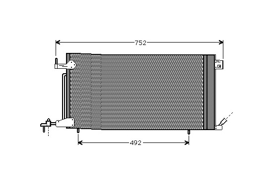 AIRCO CONDENSOR Diesel 40005187 International Radiators