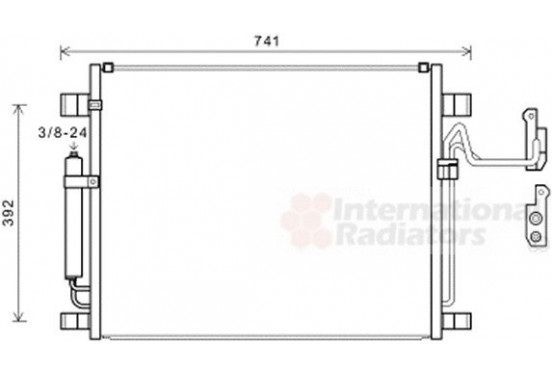 AIRCOCONDENSOR 13005398 International Radiators