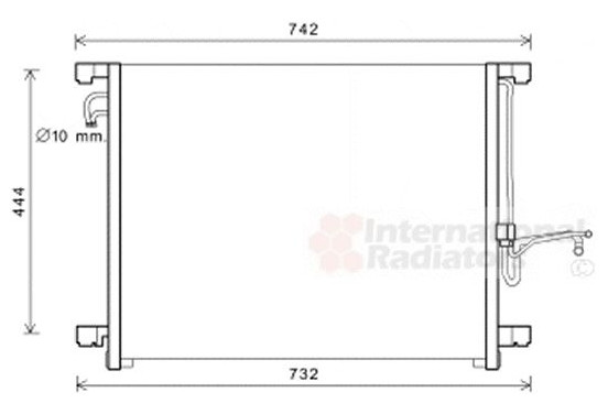 AIRCOCONDENSOR 33005392 International Radiators