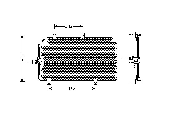 CONDENSOR GTV/SPIDER 20/30 95-97 01005065 International Radiators