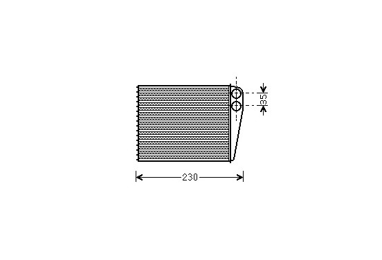 CONDENSOR MINI/MB A/B-CLASS 04- 30006465 International Radiators Plus