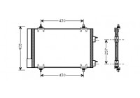 AIRCO CONDENSOR 1.4 16V / 1.6  16V 09005230 International Radiators
