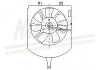 Ventilator, condensator airconditioning