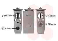 Expansieventiel, airconditioning