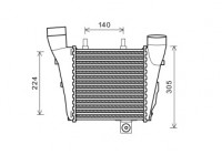 INTERCOOLER LINKS  A8 QUATTRO 3.0TDi/4.2TDi vanaf '09