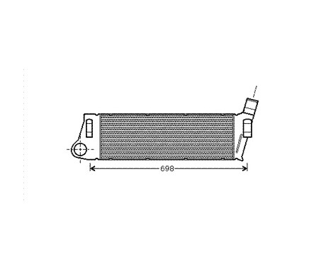INTERCOOLER 1.5 DCi / 1.9 DCi