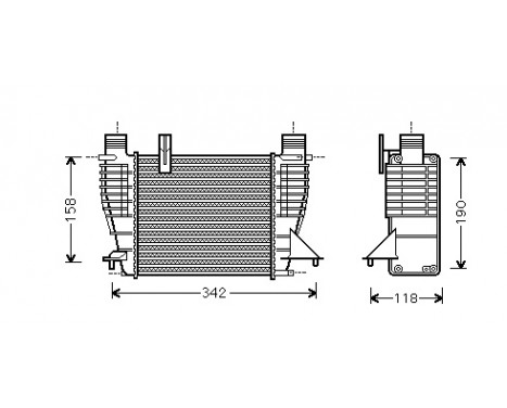 INTERCOOLER 1.5 DCi