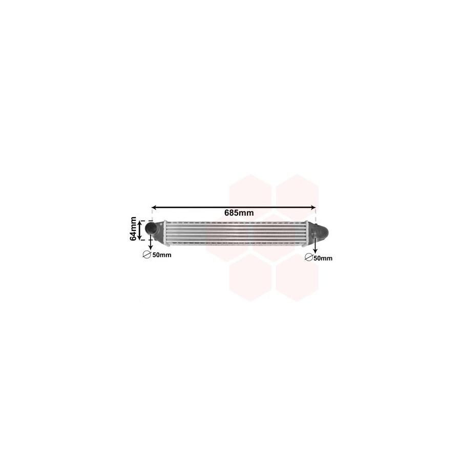 Van Wezel 58004248 Turbocooler
