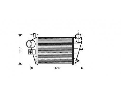 INTERCOOLER 1.9 JTD / 2.4 JTD