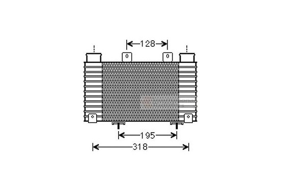 INTERCOOLER 27004250 International Radiators