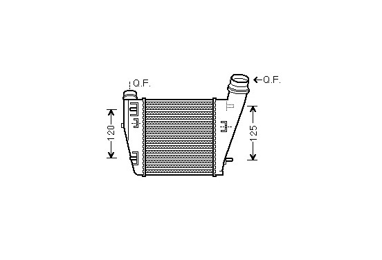 INTERCOOLER 43004552 International Radiators