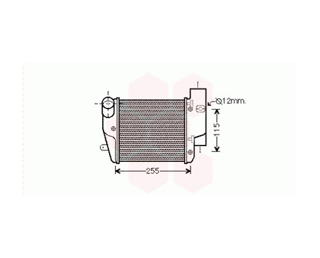 INTERCOOLER LINKS  A6 2.7TDi/3.0TDi vanaf '04 tot '08
