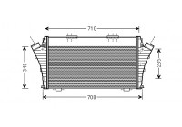 INTERCOOLER CHROOMA3 24MJTD AT 05-