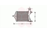 INTERCOOLER IDEA/PUNTO 1.3 JTD vanaf '03