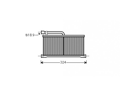 KACHELRADIATEUR A6/A6 QUATTRO ALL 04-
