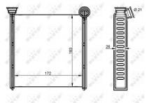Kachelradiateur, interieurverwarming