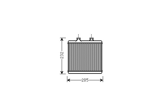 KACHELRADIATEUR MB W204/X204 ALL 07-
