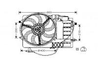 KADER+SCHROEFinclusief MOTOR 0502746 International Radiators