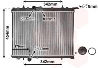 RADIATEUR BENZINE  1.1 / 1.4  / 1.6 40002189 International Radiators Plus