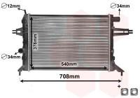 RADIATEUR BENZINE 1.4 / 1.6 / 1.8 37002272 International Radiators Plus