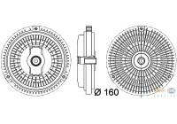 Koppeling, radiateurventilator 8MV 376 757-331 Behr Hella