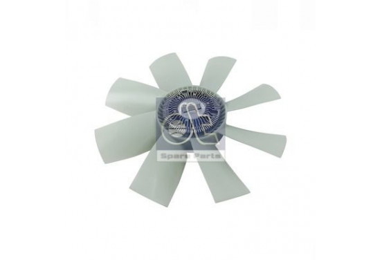 Ventilator met koppeling