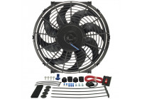DERALE 12 inch Tornado ventilator (311x286x64x38mm) excl. Thermostaat